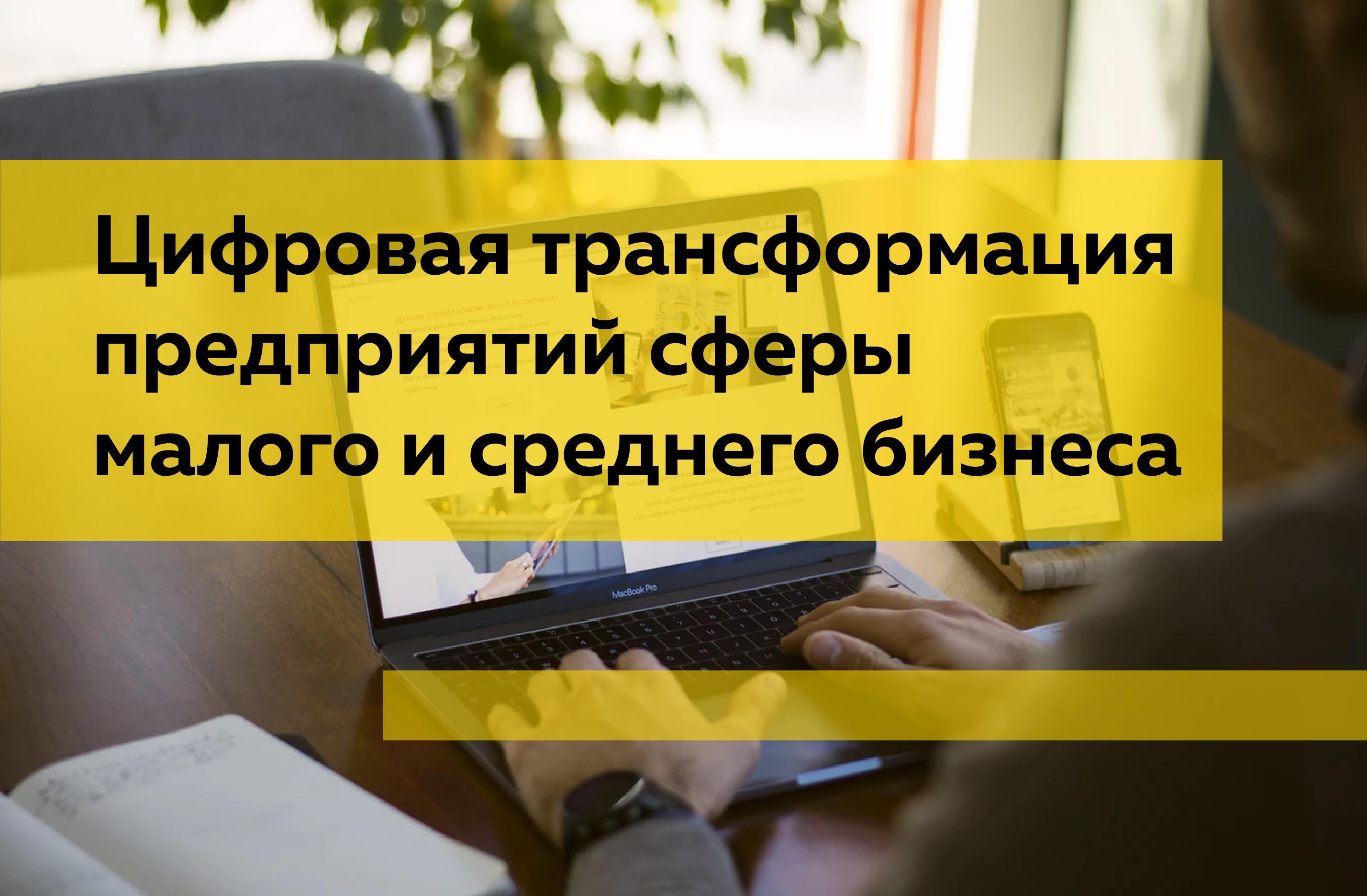 Цифровая трансформация предприятий сферы малого и среднего бизнеса